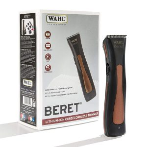 Wahl Professional Beret Lithium Ion Cord Cordless Trimmer #8841 – Great for Barbers and Stylists