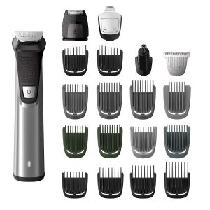 Philips Norelco MG7750 49 Multigroom Series 7000, Men's Grooming Kit with Trimmer for Beard, Head, Body, and Face