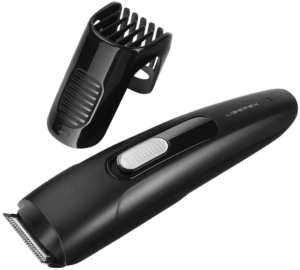 Beard Trimmer Hair Clipper - Liberex Professional Cordless Electric Men Facial Mustache Stubble Edger Grooming Kit Trimming Haircuts Shaver with 9 Adjustable Trim Settings, Battery Operated