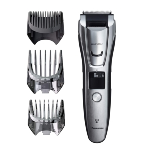 Panasonic Multigroom Beard Trimmer Kit For Face, Head, Body Hair Styling & Grooming, 39 Quick-Adjust Dial Trim Settings, Cordless/Cord, – ER-GB80-S